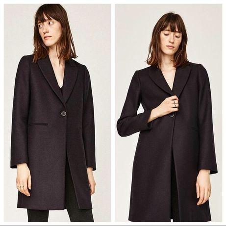 Трендовое шерстяное пальто пиджак бойфренд тренч, натуральная шерсть