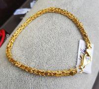 Srebrna bransoletka splot królewski 21cm 13g złoto 585 srebro 925
