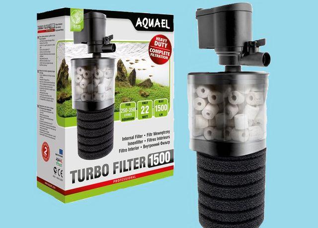 Filtr wemnętrzny do akwarium Aquael Turbo 1500lh 22 W