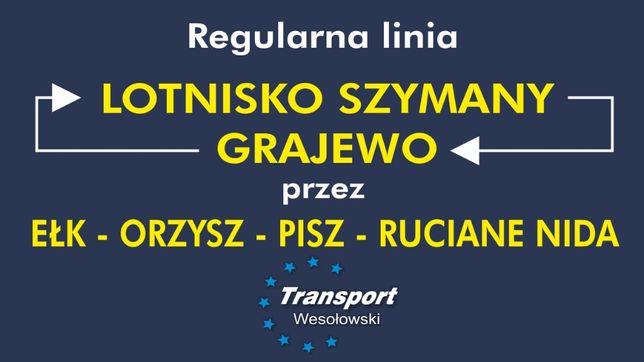 Grajewo - Lotnisko Szymany Regularna Linia