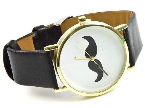 Zegarek moustache wąs GRATIS kolczyki i pierścionek Radom - image 1