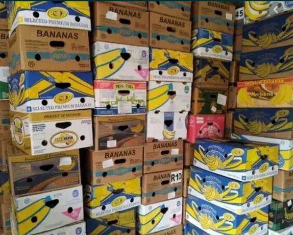 Паперові ящики від бананів