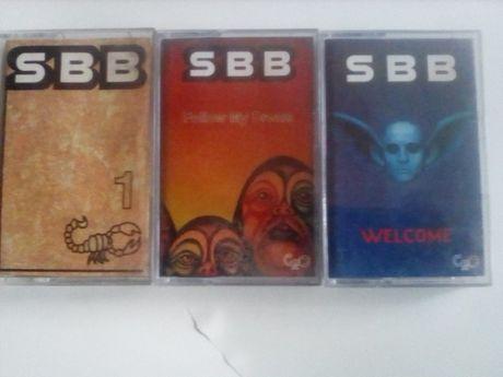 SBB kasety magnetofonowe 3 sztuki