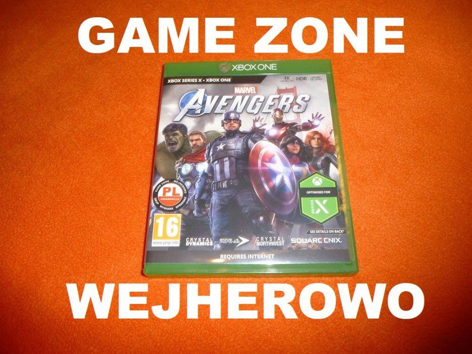 Marvel Avengers Xbox One + S + X = PŁYTA PL = Wejherowo
