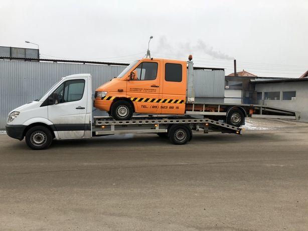 Transport samochodow Aut z Niemiec Holowanie Laweta Autolaweta