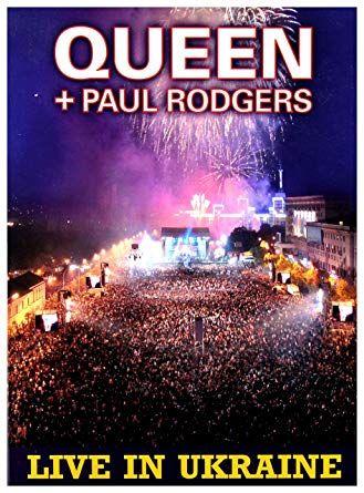 """Queen + Paul Rodgers """"Live in Ukraine"""" DVD"""