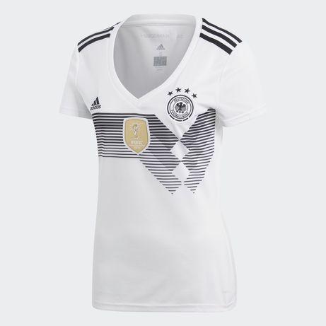 ADIDAS dfb sportowy trykot damski koszulka Bundesliga t-shirt s bluzka