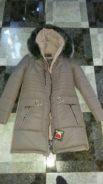 Новый пуховик, куртка, зимнее пальто