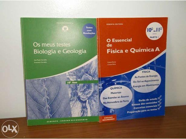 Livros de apoio/Física e Química A/Biologia e Geologia