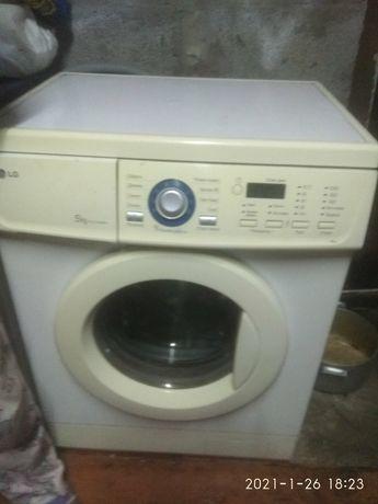 Продам стиральную машинку LG - 5 кг, WD - 10160NUP