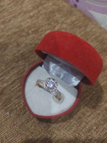 Кольцо с мед.золота