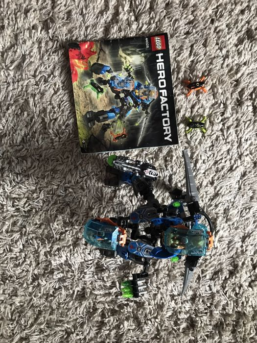 Lego Hero Factory Surge and Rocka combat machine 44028 Киев - изображение 1