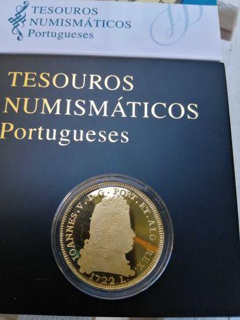 Moedas de ouro de 5,00 euros