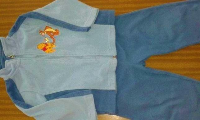 Disney*Dres polarowy dla chłopca,rozm.74/80