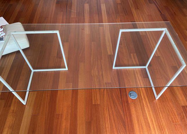 Mesa em Vidro Temperado (180x80 cm)