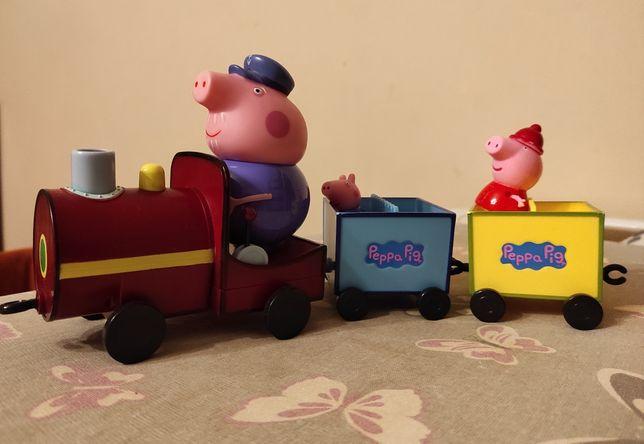 Świnka Peppa pociąg