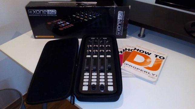 Allen & Heath Xone K2 + M-Audio Trigger Finger