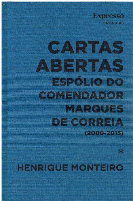 """11500 Cartas Abertas"""" Espólio do Comendador Marques de Correia (2000"""