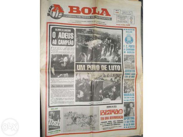 """Jornal """"a bola""""M.J.Agostinho"""