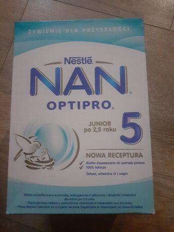 Mleko Nan 5 sprzedam