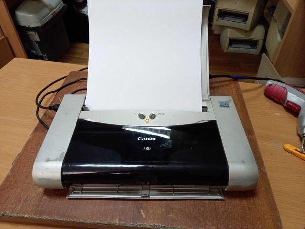 Компактный струйный принтер Canon i80