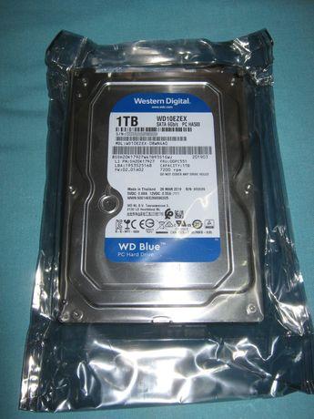 Жёсткий диск Western Digital Blue 1TB 7200rpm 64MB WD10EZEX