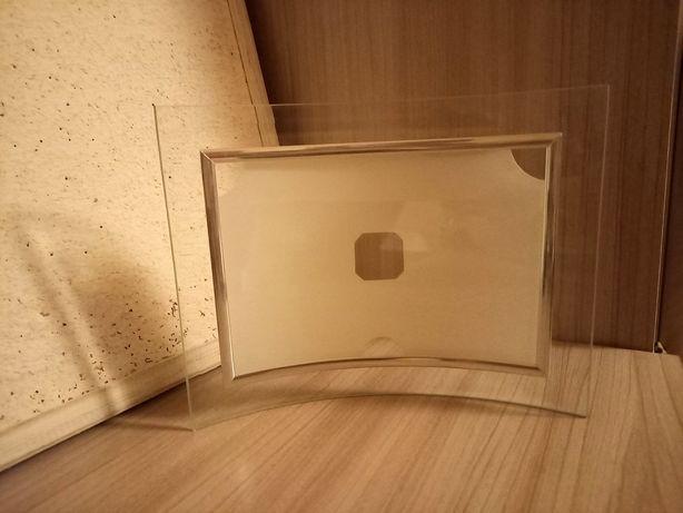Szklana ramka na zdjęcie