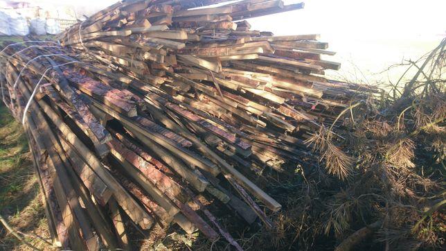 Zrzyny zrzynki opoły opał drewno