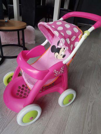 SMOBY wózek spacerowy Myszka Minnie do zabawy