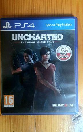 Uncharted Zaginione Dziedzictwo PS4 PS5