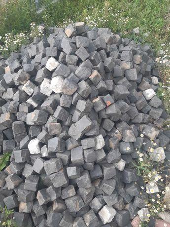 Kostka granitowa czarny bazalt
