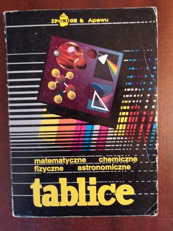 TABLICE matematyka fizyka chemia astronomia