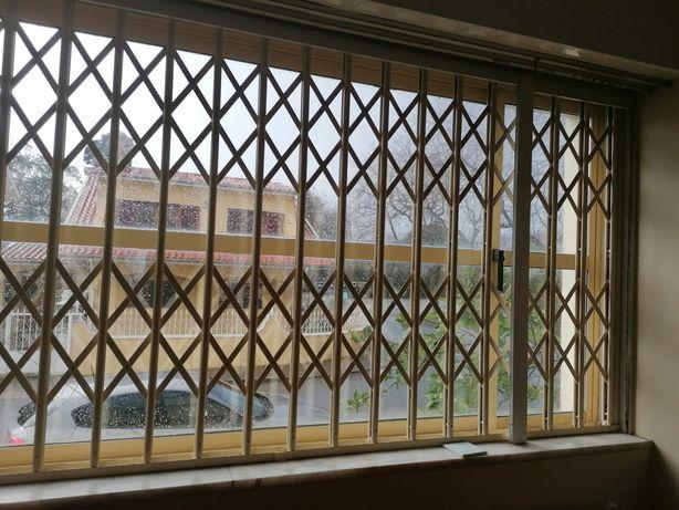 Grades de janela lagarta - 105 e 133 altura