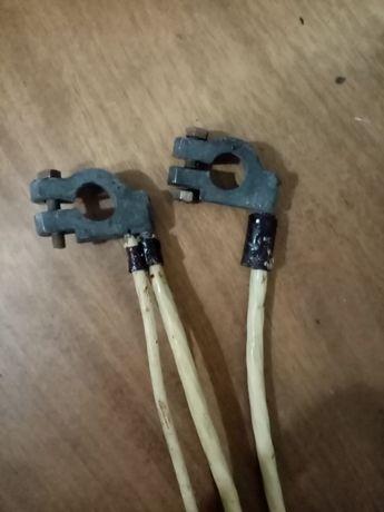 Силовые кабели АКБ ВАЗ 2101-2107 и пусковые провода прикуривания