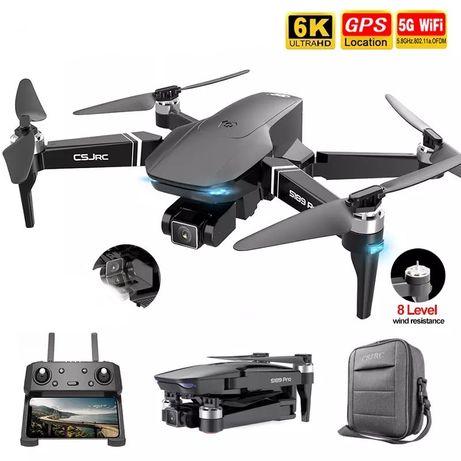 Квадрокоптер S189 PRO 4k Камера GPS 5G Wi-Fi БК моторы полёта 25 минут
