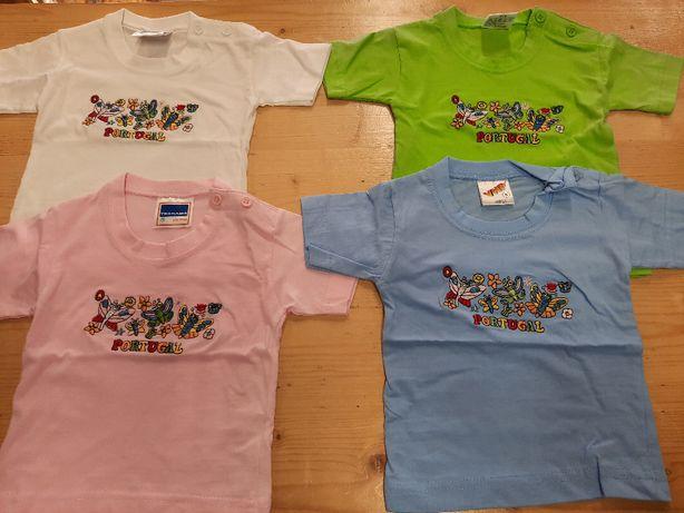 T`shirts bebé (0-12 meses) - NOVAS