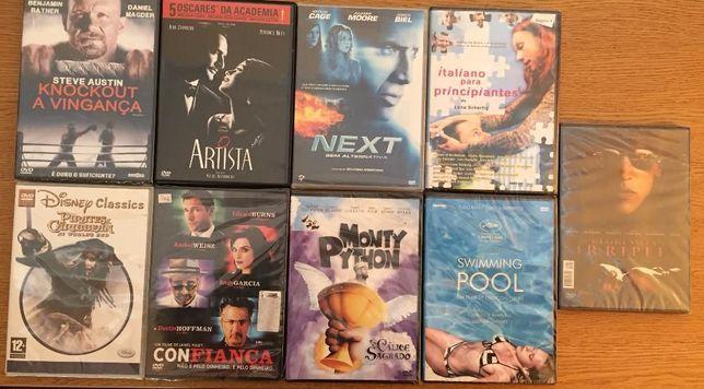 Vários filmes originais em DVD