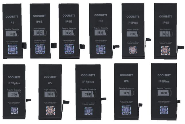 Батарея iPhone 5,5S,SE,6,6S,6Plus,6SPlus,7,7Plus,8,8Plus Ориг.ємність!