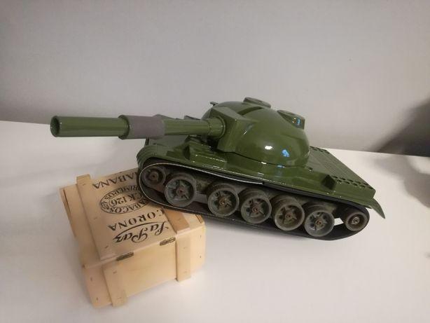 PRL zabawka aluminiowa z ZSSR czołg T-64 Michurinsky Michurinsk 1989 r