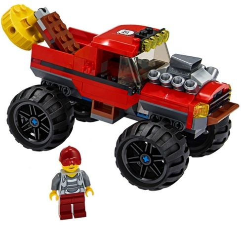 Lego City Auto pojazd jeep Monster Truck Magnes 60245 MIX KG