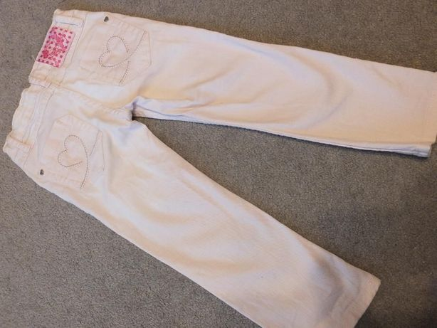 Różowe spodnie dżinsowe Charles Vogele rozm. 98