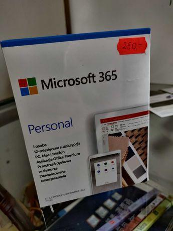 Microsoft Office 365 Personal - nowy, zafoliowany, oryginał na 12M.