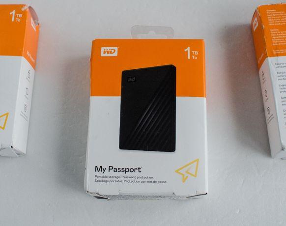 Жорсткий диск HDD Western Digital WD My Passport 1TB портативний