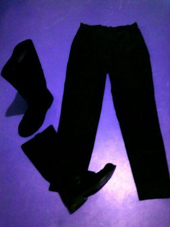 Мотоштаны байкерские брюки новые натуральный замш
