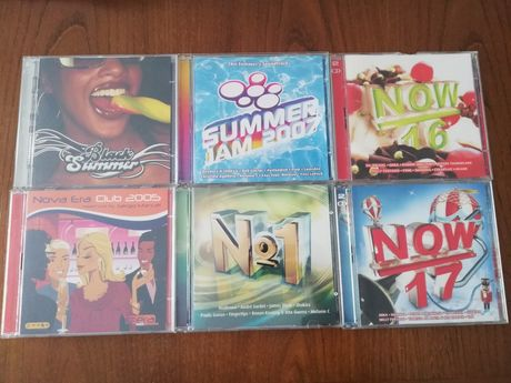 CD'S originais now e etc
