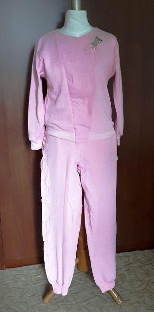 dres damski dwuczęściowy bawełna bluza i spodnie M/L