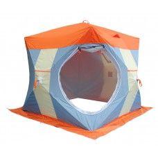 НЕЛЬМА КУБ-2 ЛЮКС палатка для зимней рыбалки с внутреннем тентом