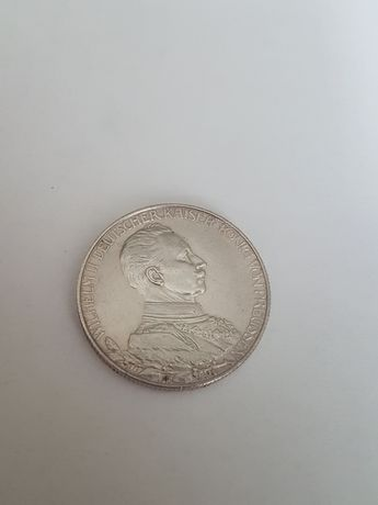 2 marki 1914r. moneta Wilhelm II