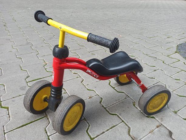 Pierwszy rowerek biegowy 4 kółka PUKY
