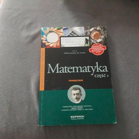 Podręcznik matematyka klasa 1